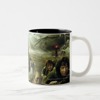 LOTR Movie Poster Art Two-Tone Mug
