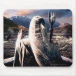 LOTR: TT Saruman Movie Poster Mousepad