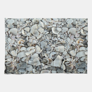 Lots And Lots Of Seashells Tea Towel