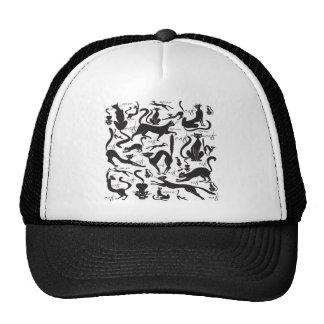Lots of Cats Mesh Hats