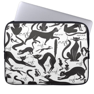 Lots of Cats Laptop Sleeve