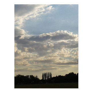 Lots Of Clouds Postcard