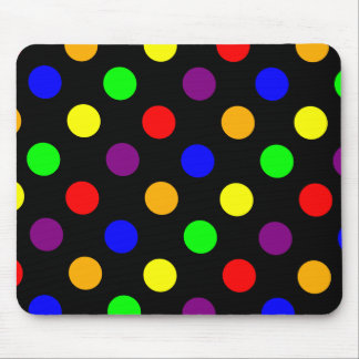 Lots of Colorful Dots Mousepads