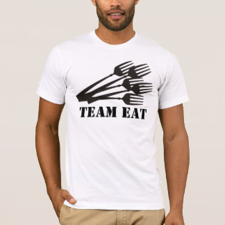 Lots of dinner dining forks cooking eating t-sh... T-Shirt