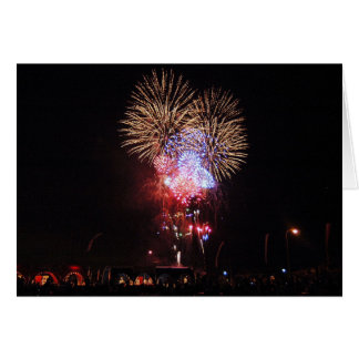Lots of Fireworks Greeting Card