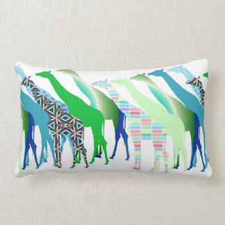 Lots of Giraffes Design 1 Lumbar Cushion