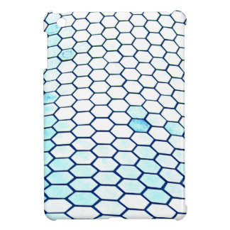 Lots of hexagons cover for the iPad mini