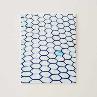 Lots of hexagons jigsaw puzzle