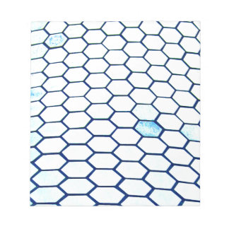 Lots of hexagons notepad