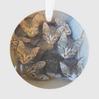 Lots of Kittens Ornament