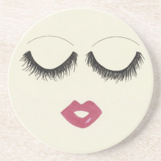 Lots of Lashes Coaster