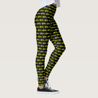 Lots of Love (Heart Pattern) (Yellow) Leggings