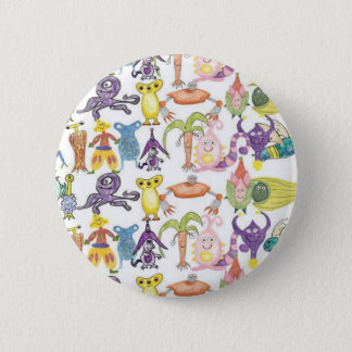 Lots of Monsters 6 Cm Round Badge