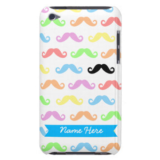 Lots of Moustaches iPod Case (customizable!)
