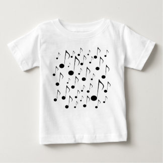 Lots of Music Notes Baby T-Shirt