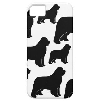 Lots of Newfoundland dogs iPhone 5 Cases