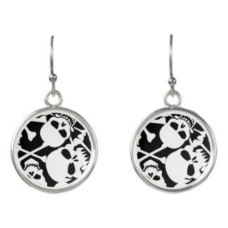 Lots of skulls earrings