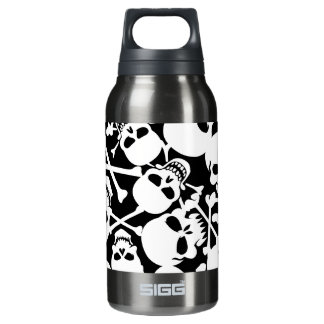 Lots of skulls insulated water bottle