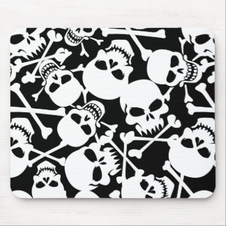 Lots of skulls mouse pad