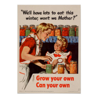 Lots To Eat! Vintage poster
