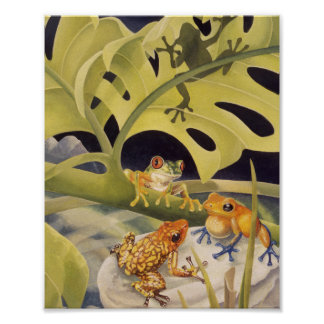 Lotsa Frogs! Poster