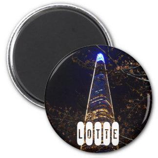 Lotte World Tower Magnet