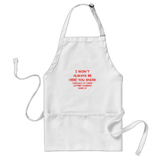 lottery aprons