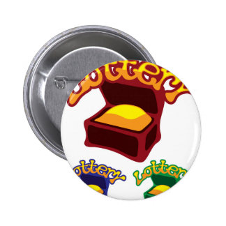 Lottery Chest 6 Cm Round Badge