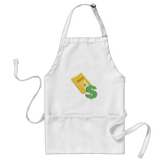 Lotto Ticket Standard Apron