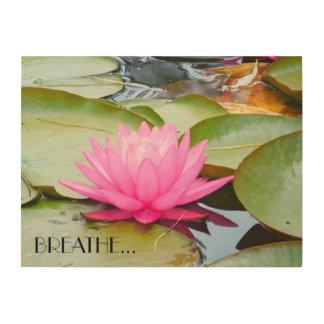 Lotus Art... Wood Print