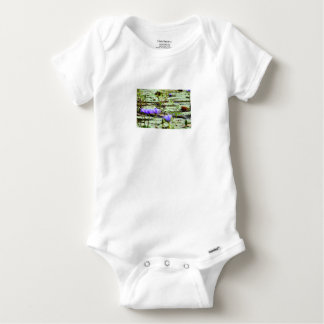 LOTUS BIRD RURAL QUEENSLAND AUSTRALIA BABY ONESIE