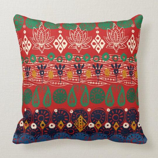 lotus block Christmas Cushion
