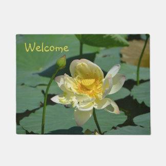 Lotus Blossom Doormat