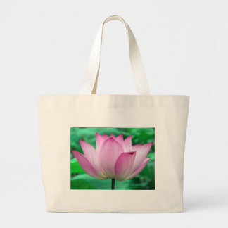 lotus blossom large tote bag