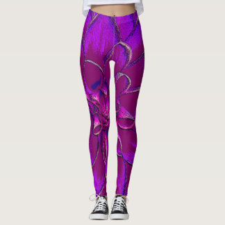 Lotus Blossom Leggings