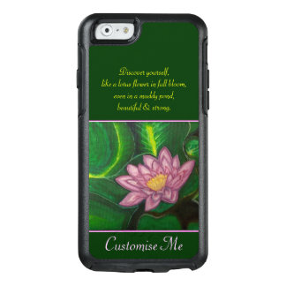 Lotus Blossom (Lily Pad) OtterBox iPhone 6/6s Case
