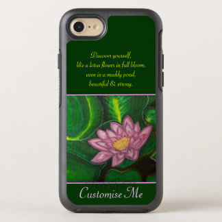 Lotus Blossom (Lily Pad) OtterBox Symmetry iPhone 7 Case