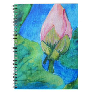 Lotus Blossom Note Book