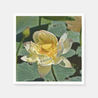 Lotus Blossom Paper Serviettes