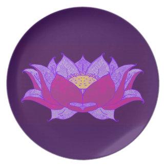lotus blossom plates