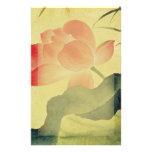 Lotus Blossom Stationery