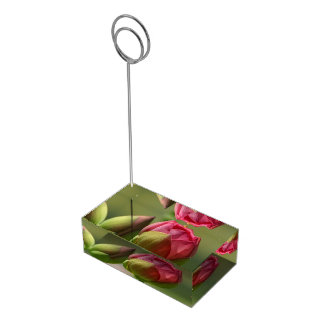 Lotus Blossom Table Card Holder