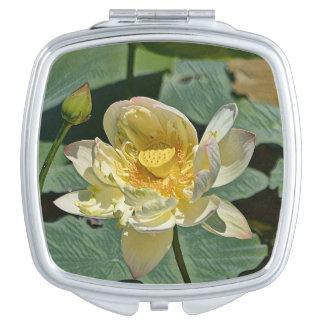 Lotus Blossom Vanity Mirror