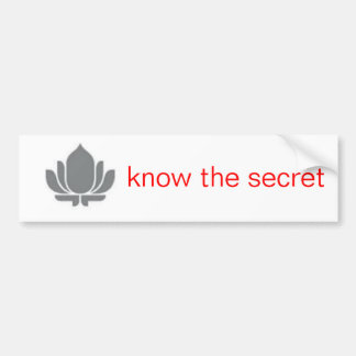 Lotus Bumper Sticker