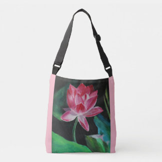Lotus Custom All-Over-Print Cross Body Bag