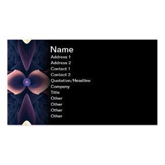 Lotus Digital Abstract Art Business Card Template