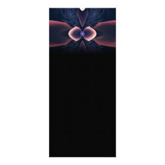 Lotus Digital Abstract Art Custom Rack Cards