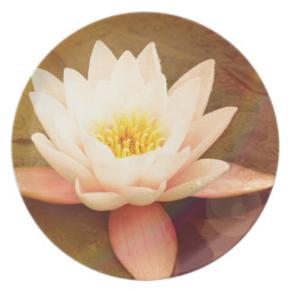 Lotus Dinner Plates