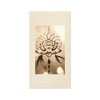 Lotus Dreams Canvas Print