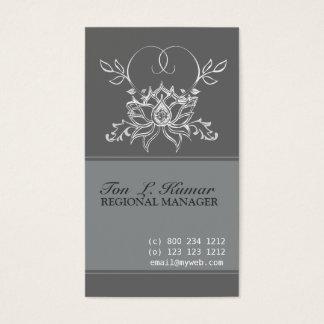 Lotus Elegant Sacred Business Card